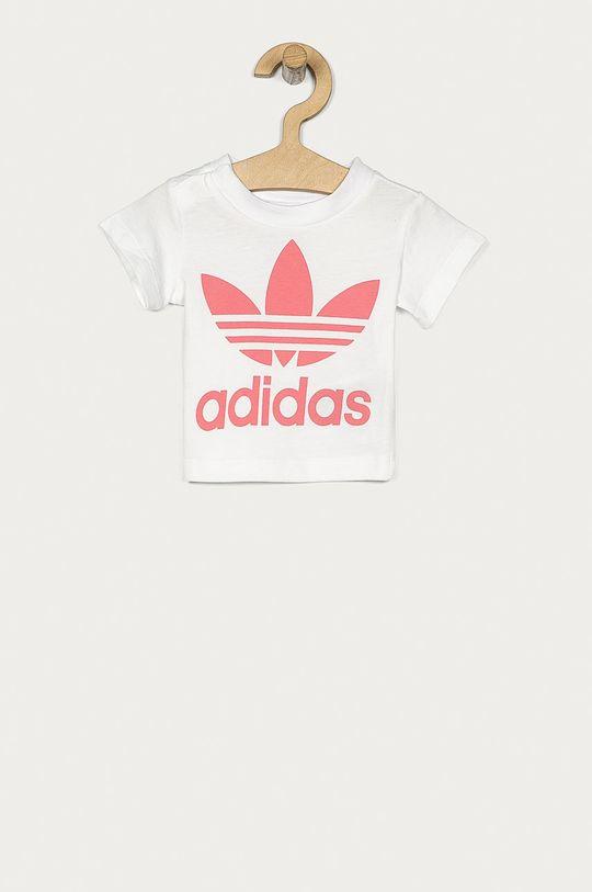 biela adidas Originals - Detské tričko 62-104 cm Dievčenský