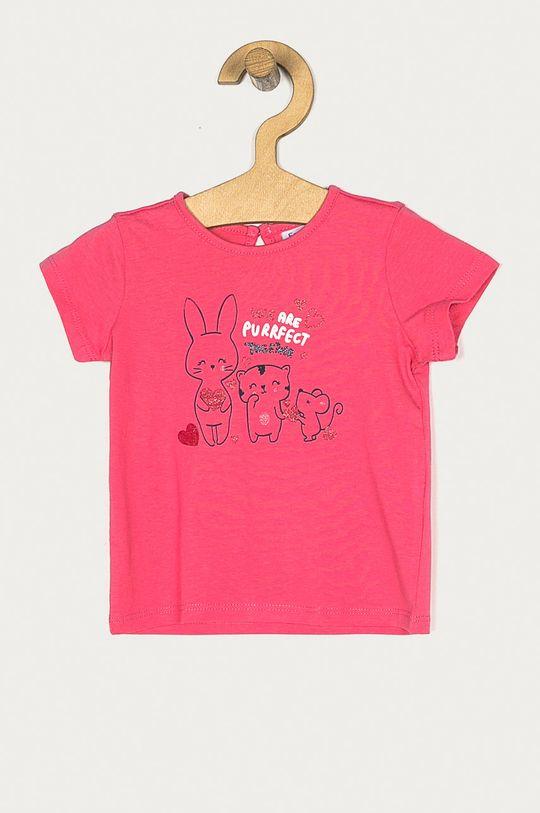 bledofialový OVS - Detské tričko 74-98 cm Dievčenský