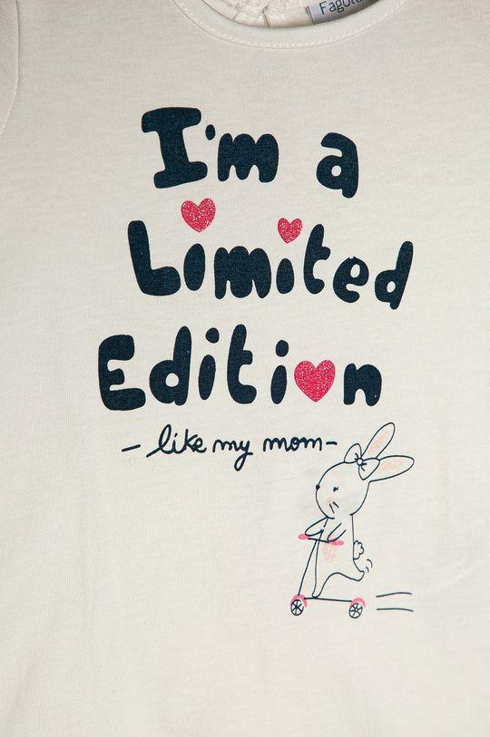 OVS - Dětské tričko 74-98 cm bílá