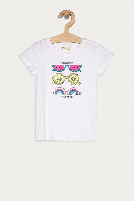 biały OVS - T-shirt dziecięcy 104-140 cm Dziewczęcy