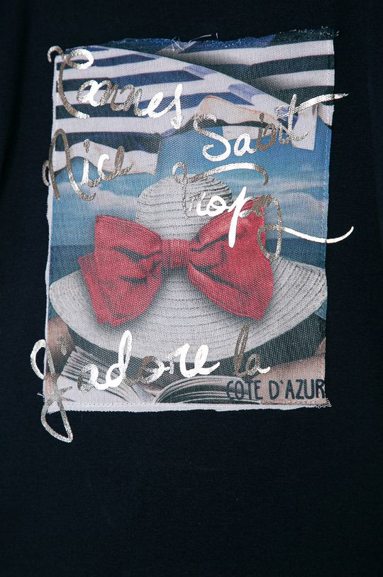 OVS - Detské tričko 104-140 cm tmavomodrá