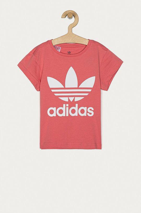 bledofialový adidas Originals - Detské tričko 104-128 cm Dievčenský