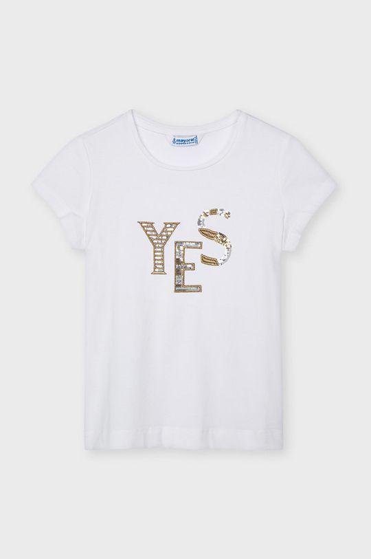 biela Mayoral - Detské tričko Dievčenský