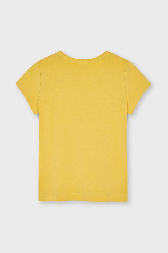 Mayoral - Detské tričko svetlo oranžová