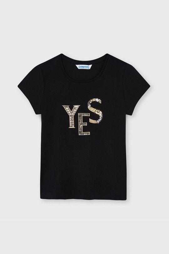 černá Mayoral - Dětské tričko Dívčí