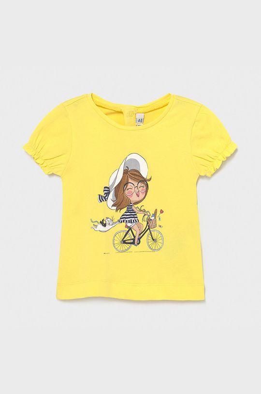 jasny żółty Mayoral - T-shirt dziecięcy Dziewczęcy