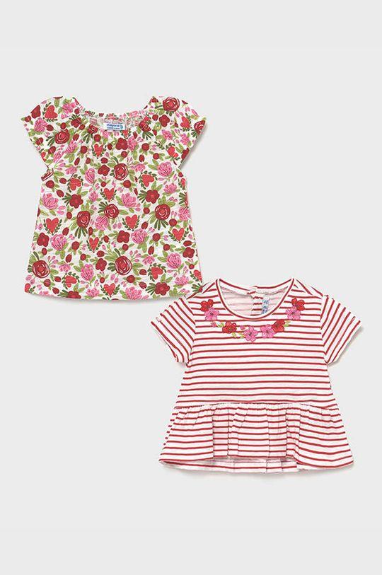 červená Mayoral - Detské tričko (2-pak) Dievčenský
