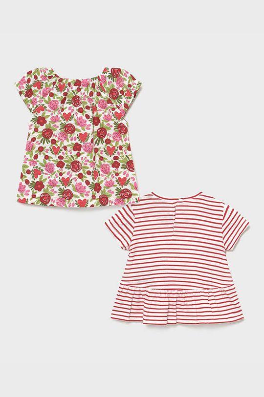 Mayoral - Detské tričko (2-pak) červená