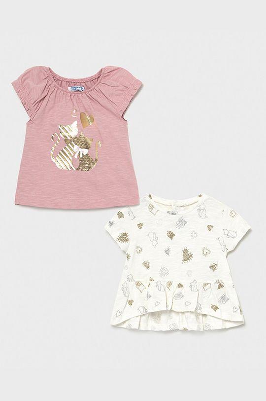 purpurový Mayoral - Detské tričko (2-pak) Dievčenský