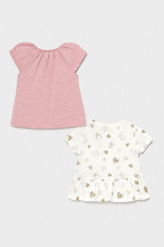 Mayoral - Detské tričko (2-pak) purpurový