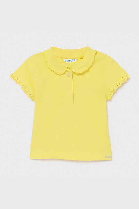 žltá Mayoral - Detské tričko Dievčenský