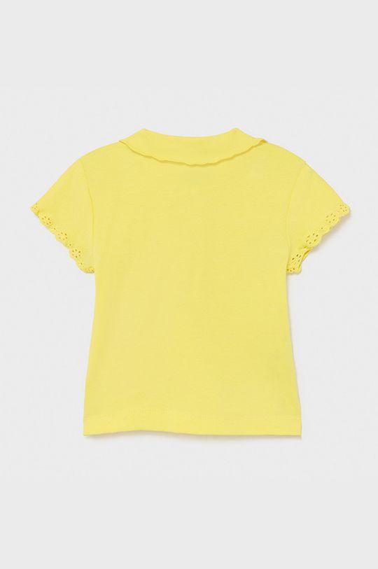 Mayoral - Detské tričko žltá