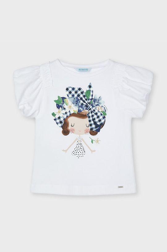 tmavomodrá Mayoral - Detské tričko Dievčenský