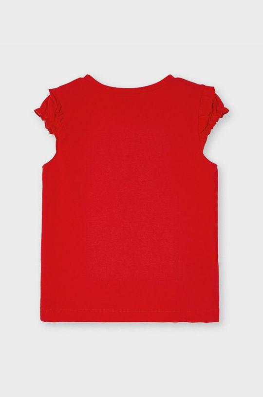 Mayoral - Detské tričko sýtočervená
