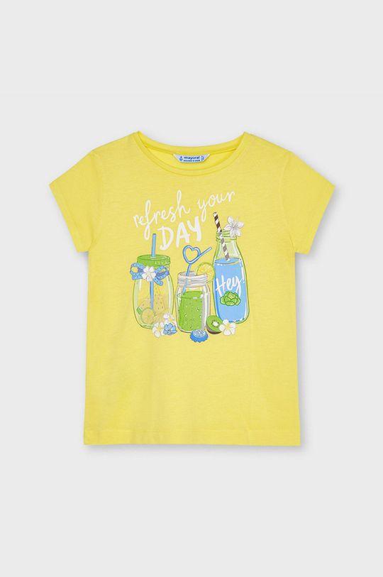 galben deschis Mayoral - Tricou copii De fete