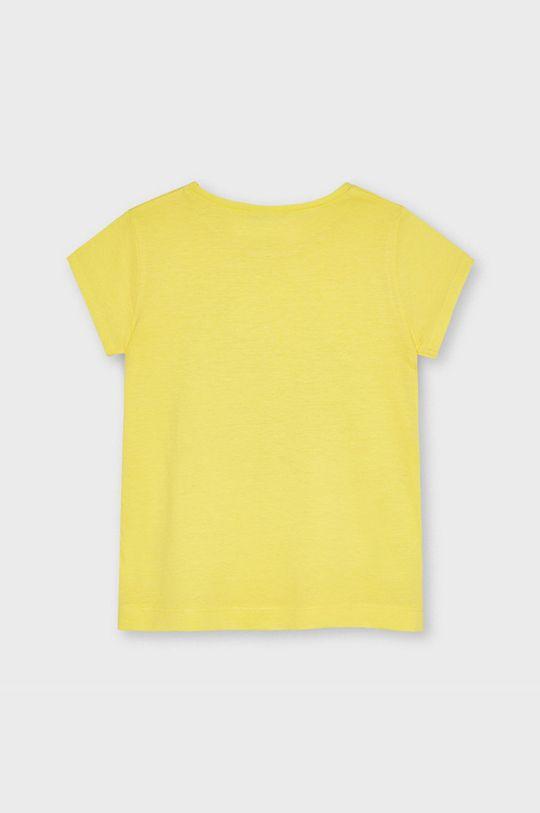 Mayoral - Tricou copii galben deschis