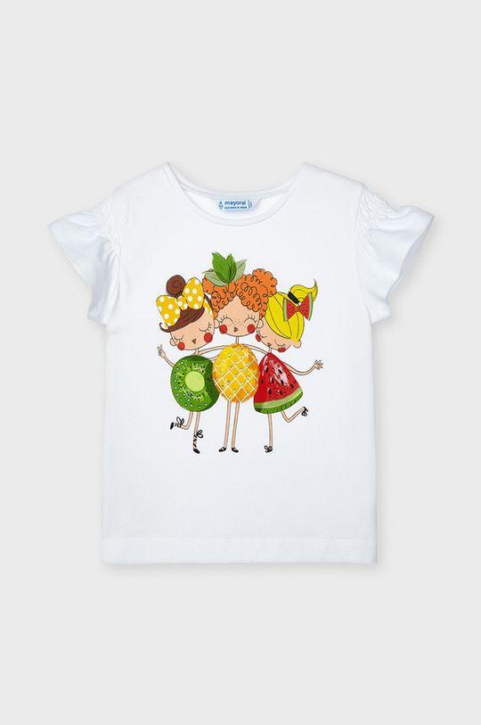 alb Mayoral - Tricou copii De fete