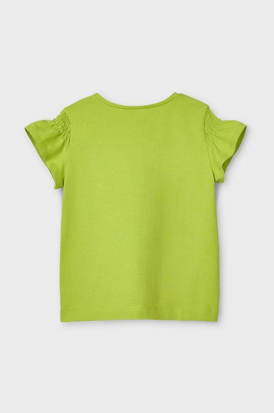 Mayoral - T-shirt dziecięcy blady zielony