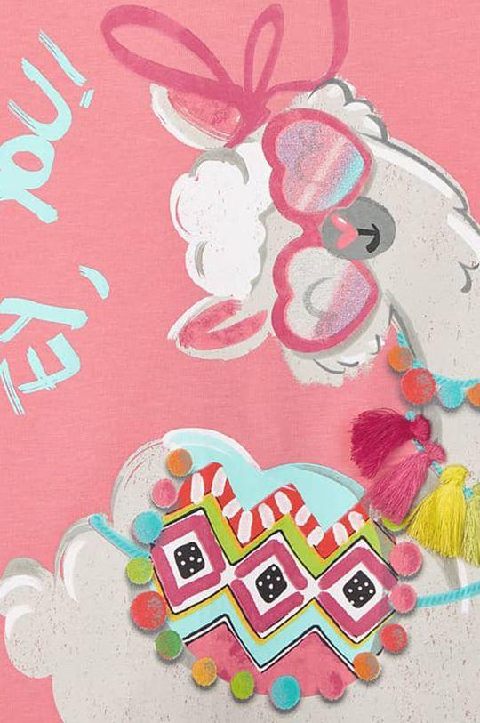 różowy Mayoral - T-shirt dziecięcy