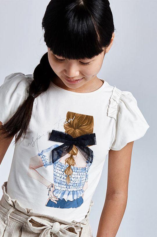 bledomodrá Mayoral - Detské tričko Dievčenský