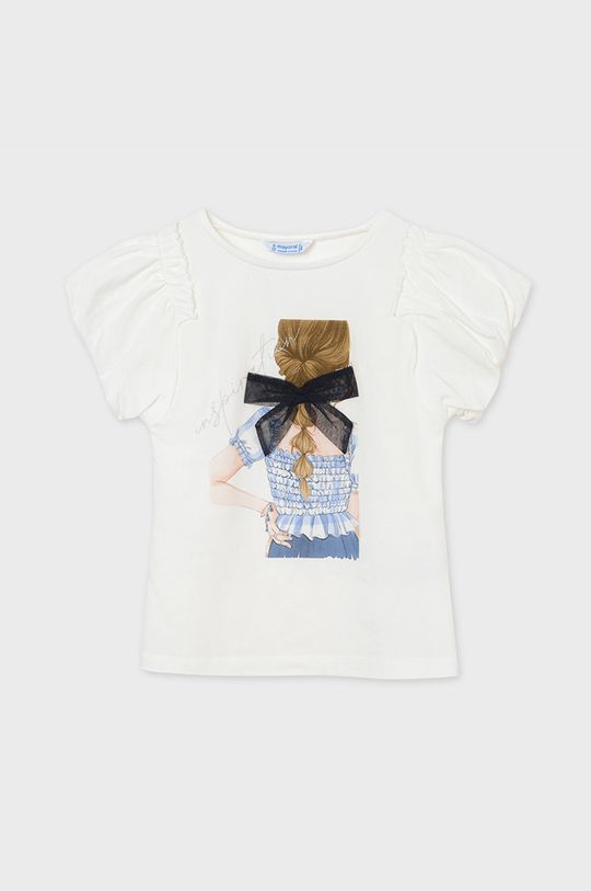 Mayoral - Detské tričko bledomodrá