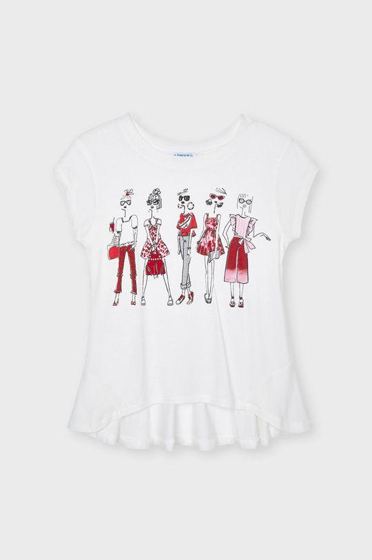 czerwony Mayoral - T-shirt dziecięcy Dziewczęcy