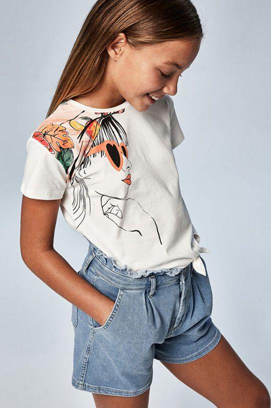 krémová Mayoral - Detské tričko Dievčenský