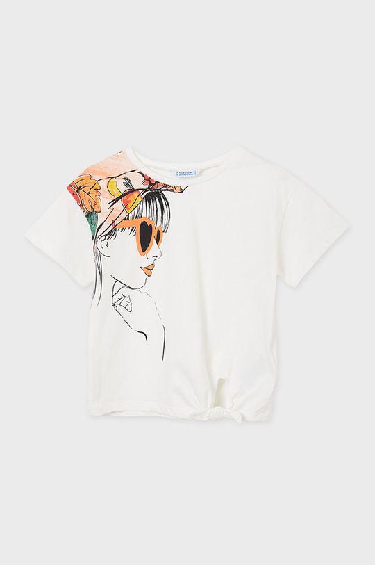 Mayoral - Detské tričko  5% Elastan, 65% Polyester, 30% Viskóza