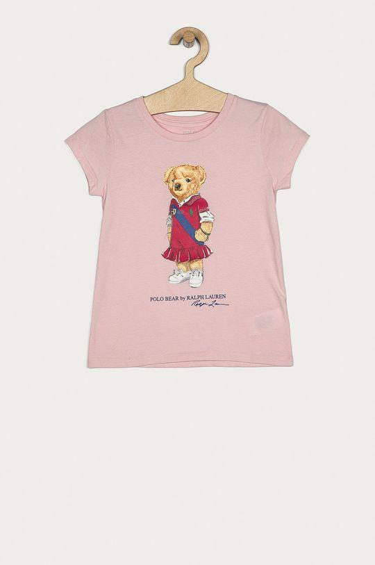 ružová Polo Ralph Lauren - Detské tričko 128-176 cm Dievčenský