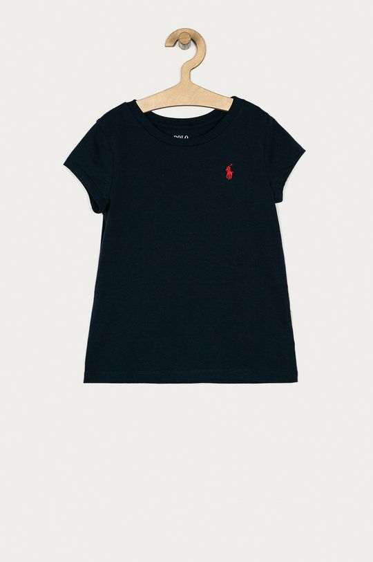 granatowy Polo Ralph Lauren - T-shirt dziecięcy 128-176 cm Dziewczęcy