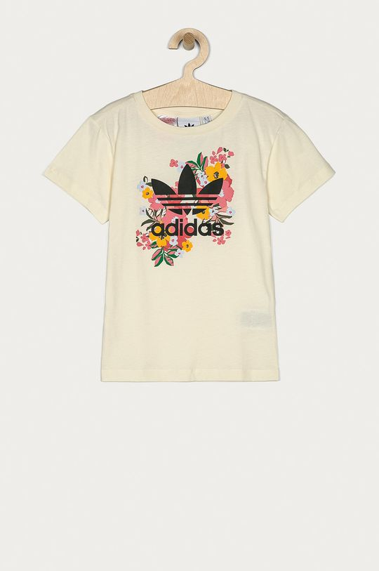 smetanová adidas Originals - Dětské tričko 128-170 cm Dívčí