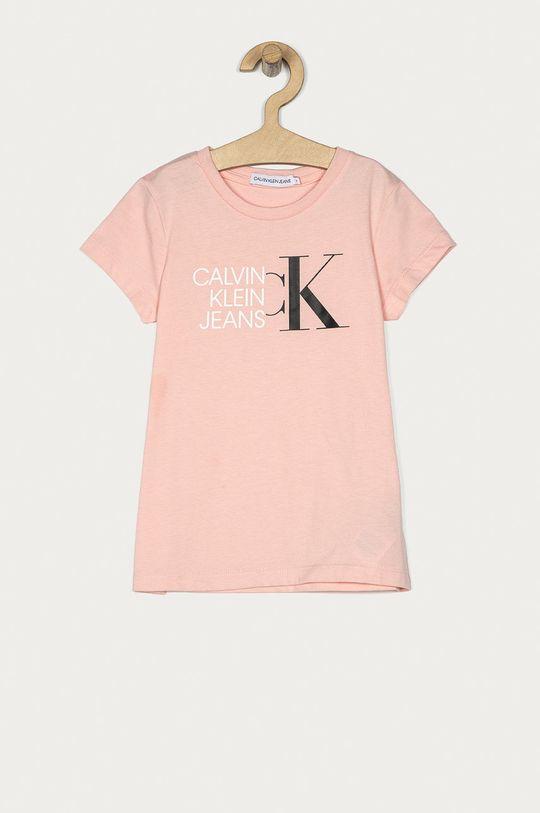 ružová Calvin Klein Jeans - Detské tričko 104-176 cm Dievčenský