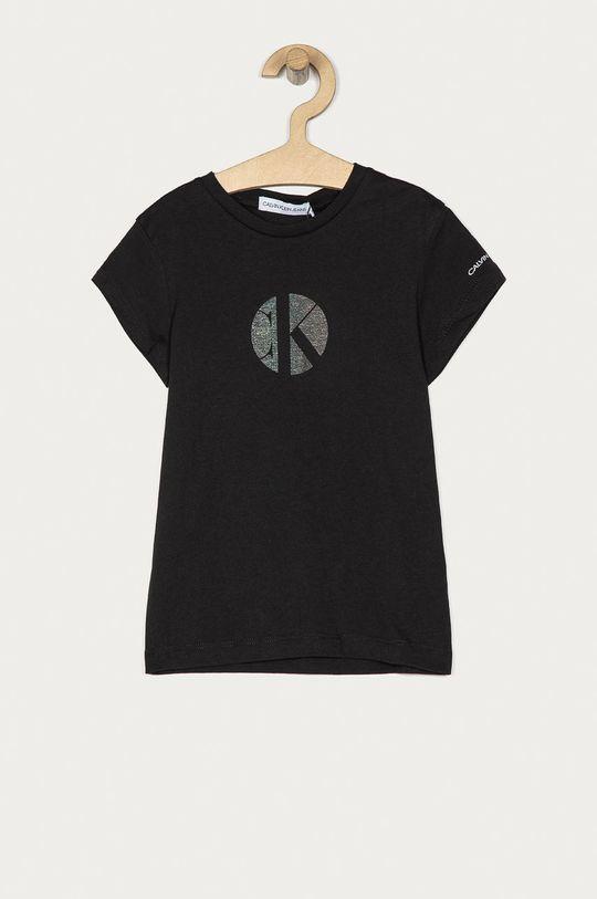 černá Calvin Klein Jeans - Dětské tričko 104-176 cm Dívčí