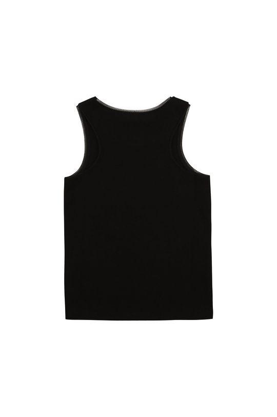 Dkny - Detský top 102-150 cm čierna