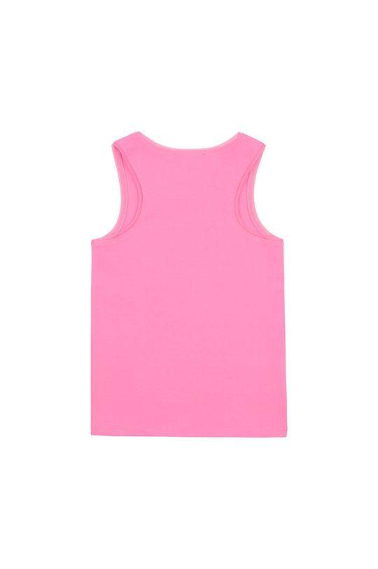 Dkny - Top dziecięcy 156-162 cm różowy