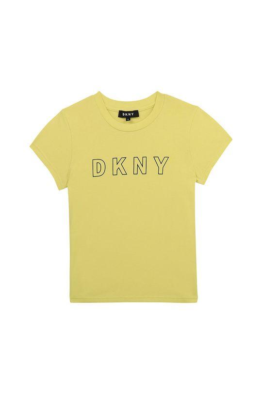 svetložltá Dkny - Detské tričko 114-150 cm Dievčenský
