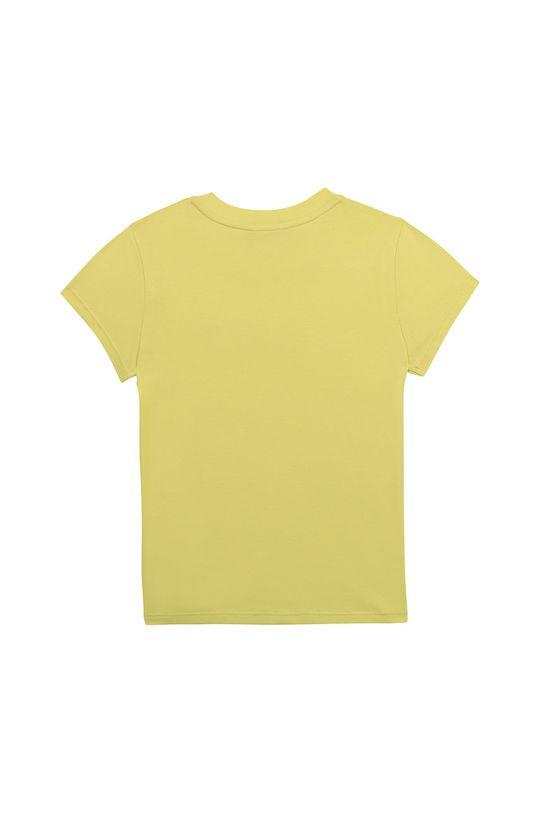 Dkny - Detské tričko 114-150 cm svetložltá