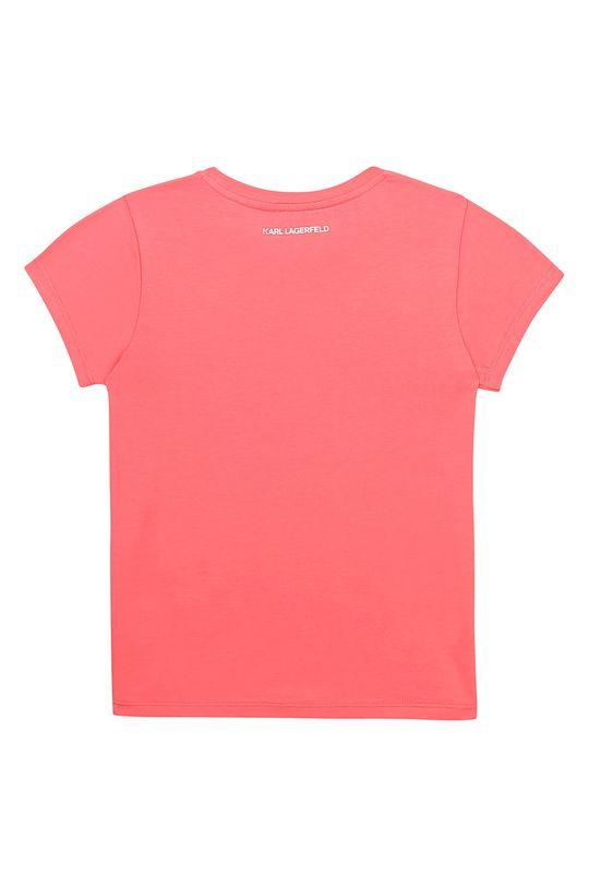 Karl Lagerfeld - Detské tričko bledofialový