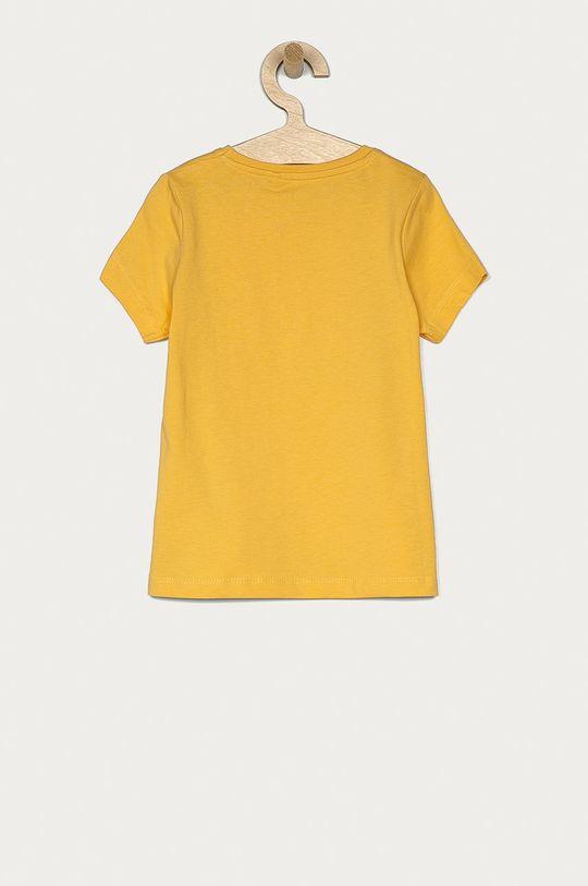 Name it - Dětské tričko 116-152 cm jasně oranžová