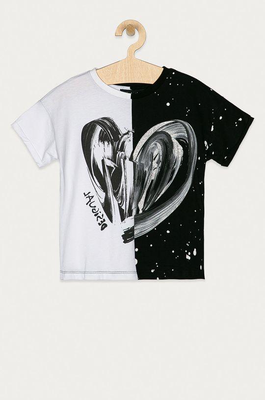 černá Desigual - Dětské tričko 104-164 cm Dívčí