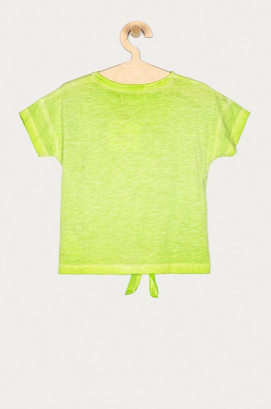 Desigual - T-shirt dziecięcy 104-164 cm żółto - zielony