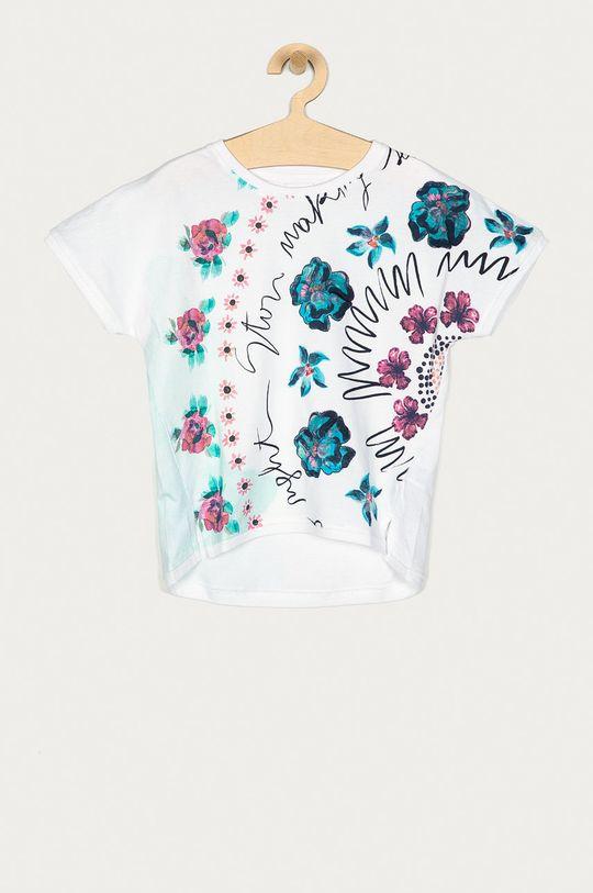 biały Desigual - T-shirt dziecięcy 104-164 cm Dziewczęcy