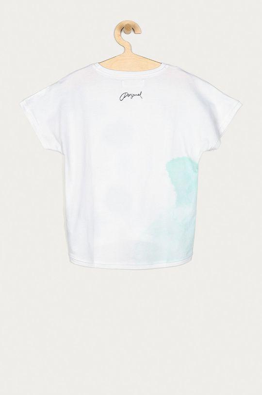 Desigual - T-shirt dziecięcy 104-164 cm biały