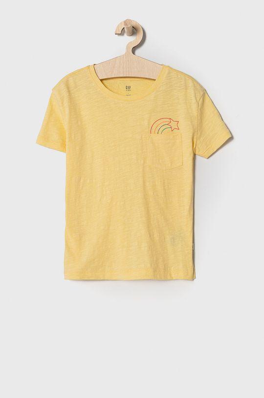 svetložltá GAP - Detské tričko 104-176 cm Dievčenský