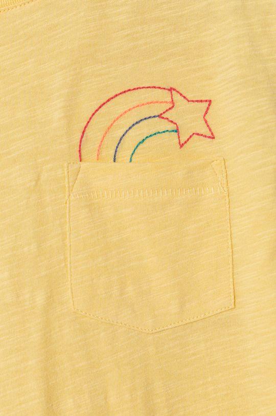 GAP - Detské tričko 104-176 cm svetložltá