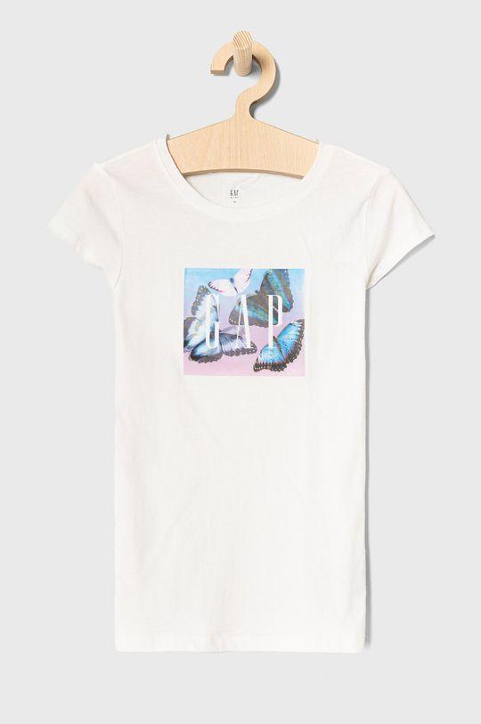biały GAP - T-shirt dziecięcy 104-176 cm Dziewczęcy