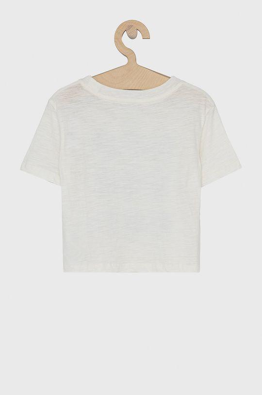 GAP - T-shirt bawełniany dziecięcy x Disney biały