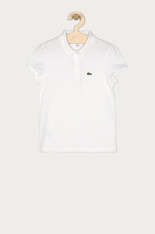 biały Lacoste - T-shirt dziecięcy 98-140 cm Dziewczęcy
