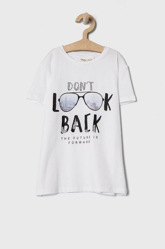 biały OVS - T-shirt dziecięcy 146-170 cm Dziewczęcy