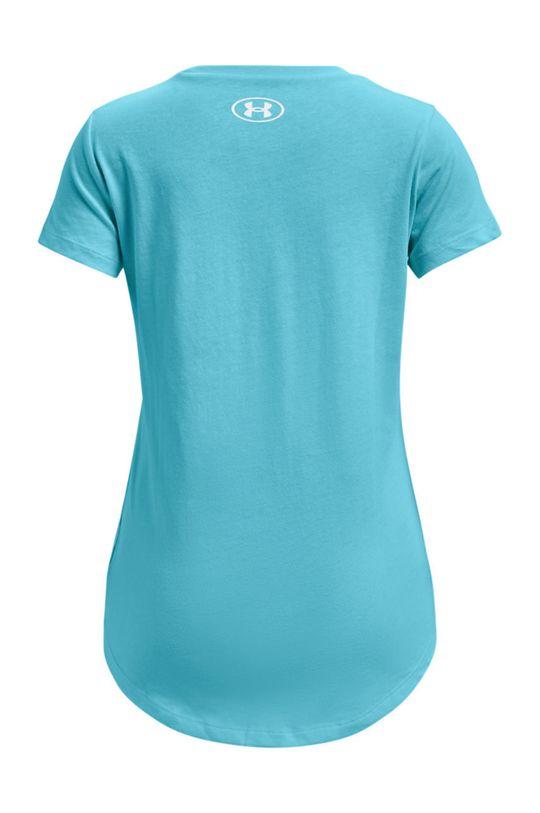 Under Armour - T-shirt dziecięcy 127-170 cm turkusowy